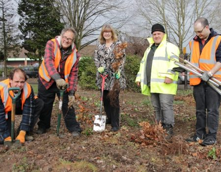 200 new trees for Cripplegate Park