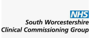 NHS South Worcestershire CCG